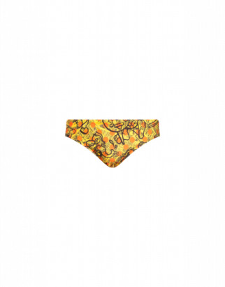 Moschino Yellow Pages Beach Briefs Man Yellow Size L It - (m Us)