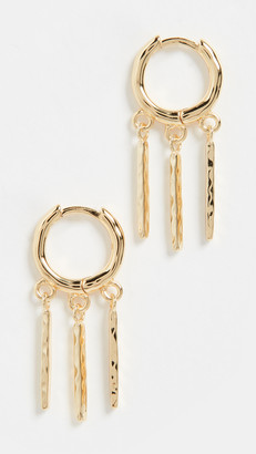 Gorjana Alicia Bar Huggie Earrings