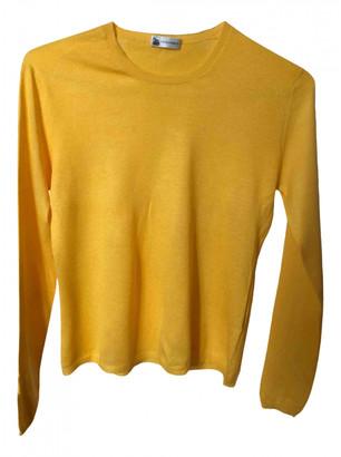 Colombo Yellow Silk Knitwear