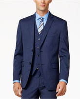 Alfani Men's Traveler Medium Blue Slim-Fit Jacket, Only at Macy's