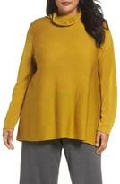 Eileen Fisher Plus Size Women's Scrunch Turtleneck Sweater