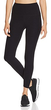 Beyond Yoga High-Waist Midi Space-Dye Leggings