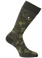 Fred Perry Hunting Green Tonal Camo Socks