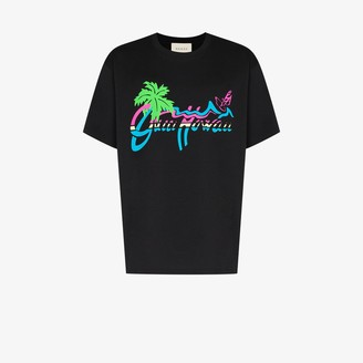 Gucci Hawaii logo-print T-shirt