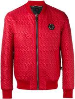Philipp Plein Roar bomber jacket - men - Polyamide/Polyester - L