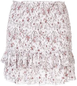 Haisley Ruched Mini Skirt