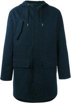 A.P.C. hooded coat - men - Cotton/Polyamide - M