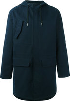 A.P.C. hooded coat - men - Cotton/Polyamide - S