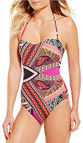 Kenneth Cole New York Without Borders Bandeau One-Piece