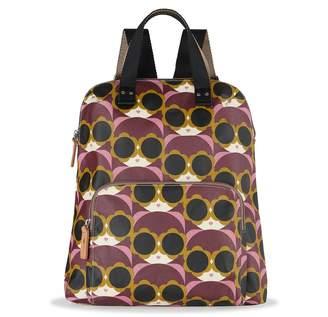 Orla Kiely Bestie Backpack, Morello