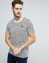 The North Face Simple Dome T-Shirt in Rain Camo