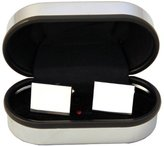 I Luv LTD Rectangle Cufflinks Suitable for engraving