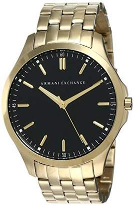 Armani Exchange Men's AX2145 Gold Watch