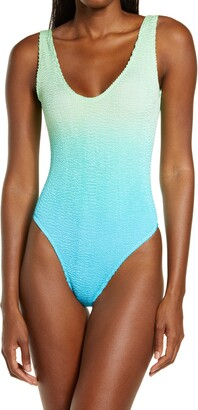 BOUND by Bond-Eye The Mara Ombre One-Piece Swimsuit