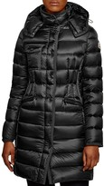Moncler Hermine Long Down Coat