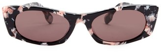 Cat Eye 50MM Rectangle Sunglasses
