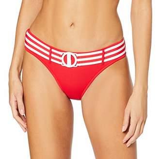Seafolly Women's Belted Hipster Bikini Bottoms, Black