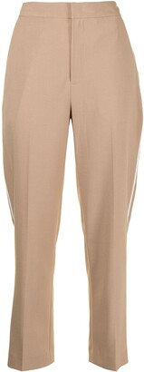 PortsPURE Cropped Straight-Leg Trousers