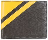 Salvatore Ferragamo thick stripe wallet - men - Calf Leather - One Size