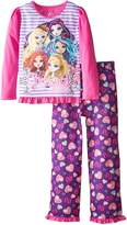 "Komar Kids Ever After High Big Girls' ""Charmed, I'm Sure"" 2-Piece Pajamas - , 7 - 8"