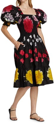 Busayo Iya Puff Sleeve Dress Dress