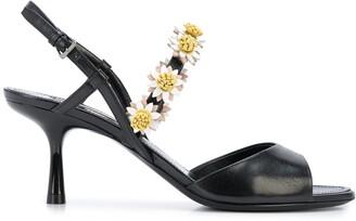 Fabrizio Viti Bea floral sandals