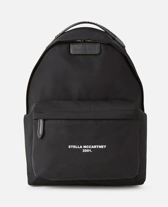 Stella McCartney Falabella Logo Go Backpack, Women's