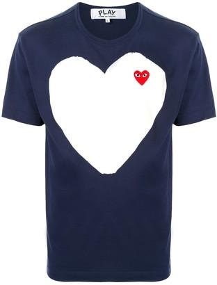 Comme des Garcons logo-print crew neck T-shirt