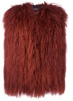 Yves Salomon Accessories fuzzy gilet