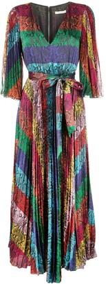 Alice + Olivia Meryl pleated dress