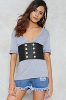 Nasty Gal nastygal Love Shack Vegan Leather Belt