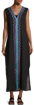 Ella Moss The Dreamer Caftan Coverup, Black