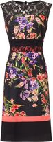 Precis Petite Petite Print And Lace Dress