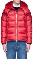 Moncler 'Pascal' detachable hood down puffer jacket