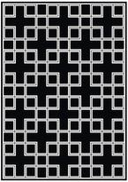 Eichholtz Carpet Caton Black Rectangle Small