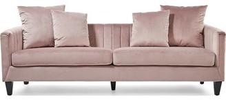 Elle Decor Celeste Chesterfield Sofa Upholstery Color: Light Gray