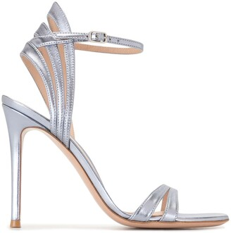 Gianvito Rossi Ankle-Strap Leather Sandals