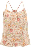 Loup Charmant Liberty-print Cotton-voile Top - Womens - Pink