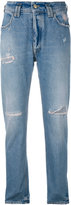 Cycle distressed slim-fit jeans - women - Cotton - 25