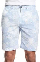 Bugatchi Men's Floral Stripe Shorts