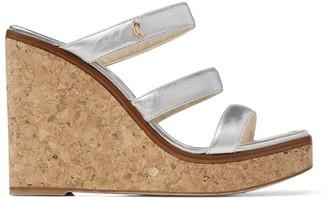 Jimmy Choo Athenia 110 Wedge Sandals