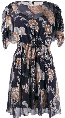See by Chloe Floral Print Mini Dress