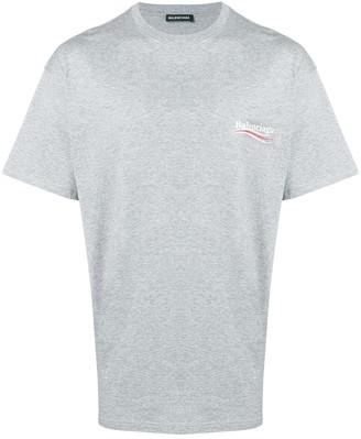 Balenciaga political logo T-shirt
