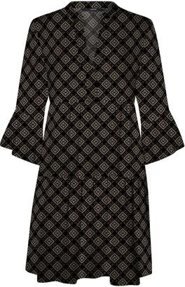 Vero Moda Kay Bell Sleeve Minidress