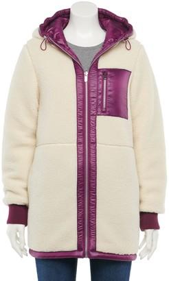 Women's Green with Envy Reversible Sherpa Puffer Coat