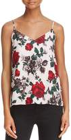 Equipment Layla Floral Silk Camisole Top