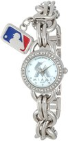Game Time Women's MLB-CHM-MIA Charm MLB Series 3-Hand Analog Watch