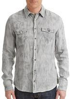 BOSS ORANGE Edaslime Linen Sport Shirt