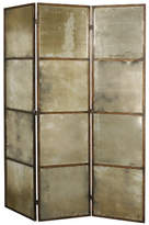 """Uttermost 80"""" x 63"""" Avidan Mirrored 3 Panel Room Divider"""