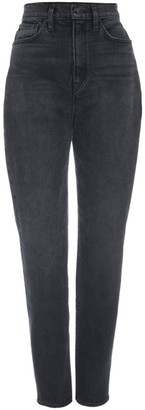 Hudson Ellie Extreme High-Rise Tapered Jeans